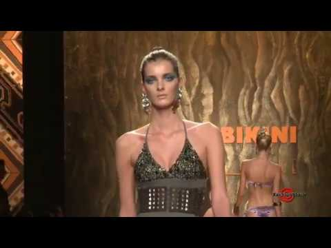 Miss Bikini Luxe - Milan Fashion Week Ss 2010 Runway Show Sexy Models Defile video