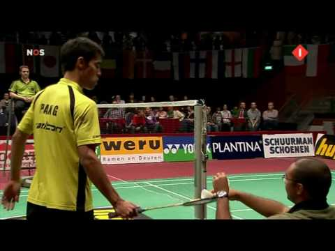 Dutch Open 2009 Finale ME  Eric Pang vs Chetan Anand part 1