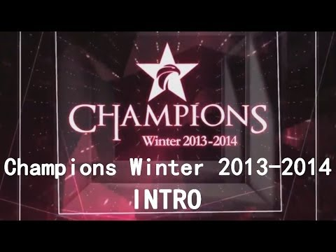 PANDORA.TV Champions Winter 2013-2014 - Intro