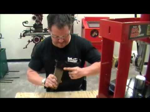 LW-15 Polymer AR-15 receiver -- Torture Test #2 -- Receiver Strength