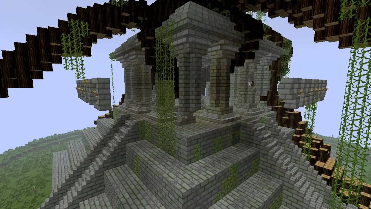 Minecraft Giant Jungle Temple
