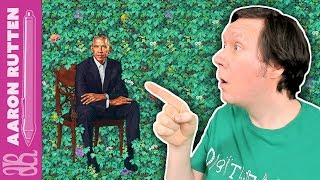 Artist's Critique of President Obama's Official Portrait