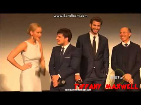Jennifer Lawrence & Liam Hemsworth - Favourite Moments (Part 4)