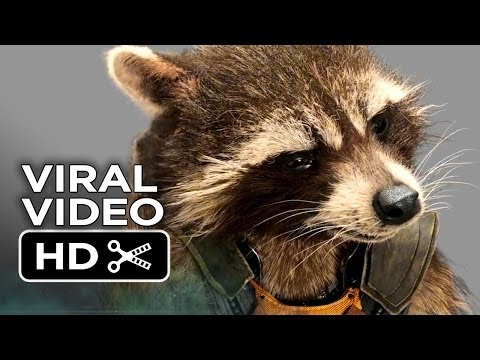 Guardians of the Galaxy Viral Video - Rocket Raccoon (2014) - Bradley Cooper Marvel Movie HD