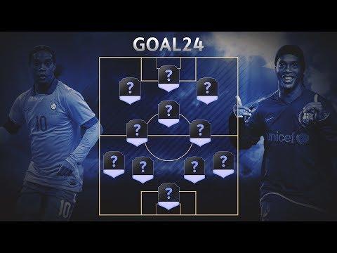 Команда мечты Роналдиньо - GOAL24