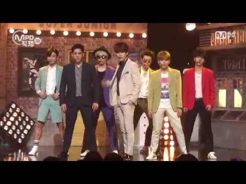 [MPD직캠] 슈퍼주니어 직캠 DEVIL Super Junior Fancam Mnet MCOUNTDOWN 150716