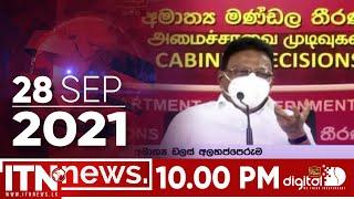 ITN News 2021-09-28 | 10.00 PM