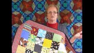 How to use up some Left-Over 5 inch squares - Quilting Tips & Techniques 179
