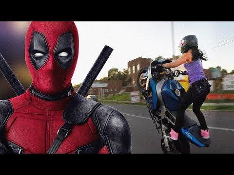 Por esta Razon Perdio la Vida Actriz en Filmación de Deadpool 2 -Durante una Escena de Motocicleta