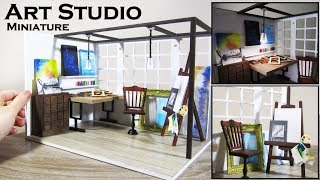 DIY Miniature - Art Studio (Customized Kit)