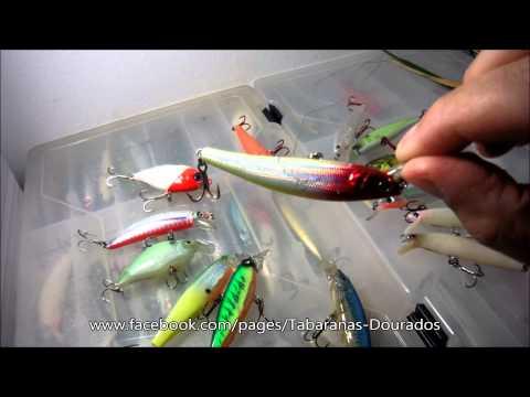 Iscas Artificiais - Minhas Iscas Favoritas para pesca da Tabarana.