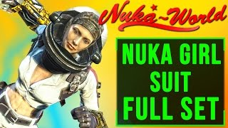 Fallout 4 Nuka World DLC: Nuka Girl Space Suit Location Guide (FULL SET Rocket Girl UNIQUE ARMOR)!