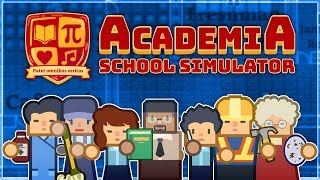 Academia: School Simulator   PART 1   BLUEPRINTS