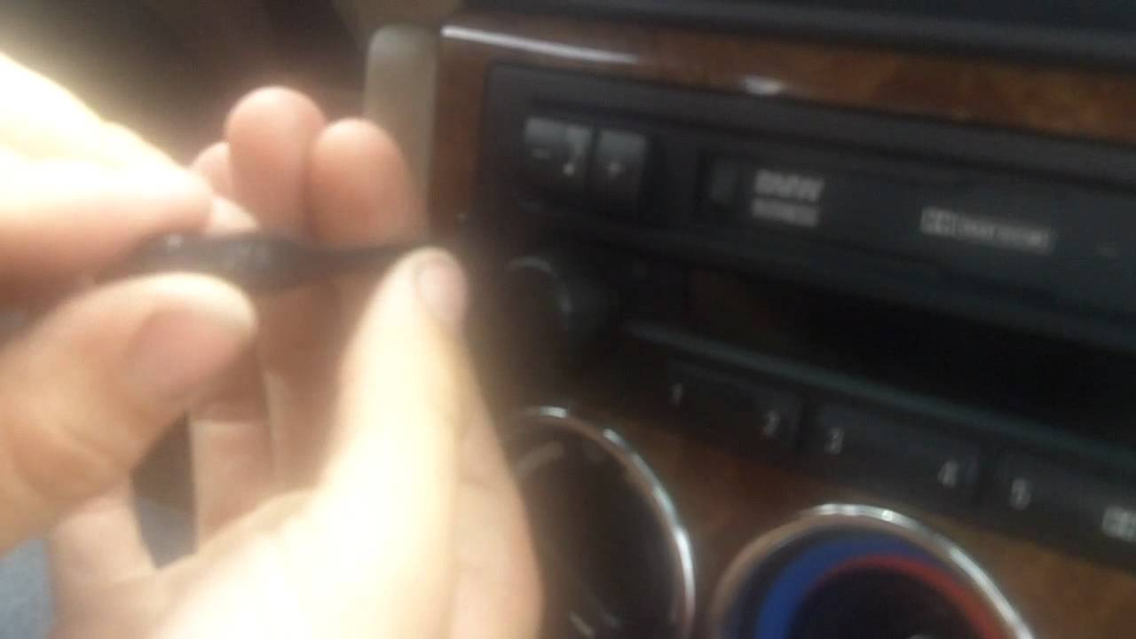 How To Remove Radio From 2000 Bmw Z3 Mb Motorsports