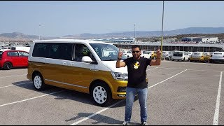 To πρώτο στην Ελλάδα VW Transporter Multivan Bulli 70 years
