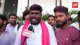 TRS Celebrations At Telangana Bhavan | Sai Chand | CM KCR | KTR | Harish Rao
