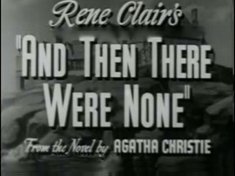 a report on the novel an then there were none by agatha christie And then there were none is a mystery novel by english writer agatha christie, widely considered her masterpiece and described by her as the most difficult o.