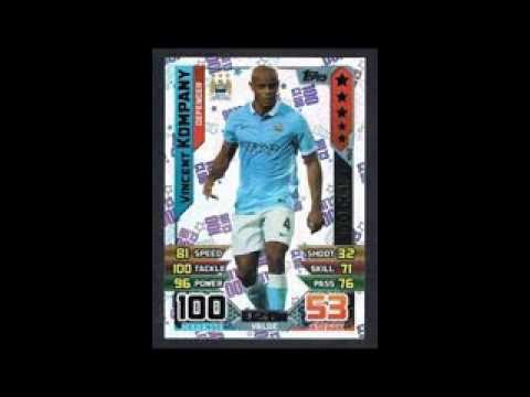 All 100 Clubs | Match Attax Premier League