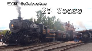 Western Maryland Scenic Railroad Celebrates 25 Years with Three Steam Engines