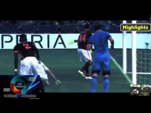 Roma vs Barcelona 1-1 UCL 16/9/15 Goals and Full Highlights