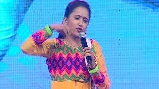Anchor Suma Imitates Power Star Pawan Kalyan at Jil Audio Launch