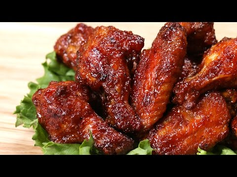 Honey BBQ Chicken Wings