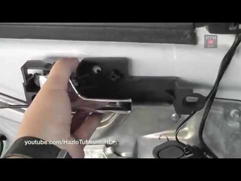 how to install replace outside door handle ford focus 00. Black Bedroom Furniture Sets. Home Design Ideas