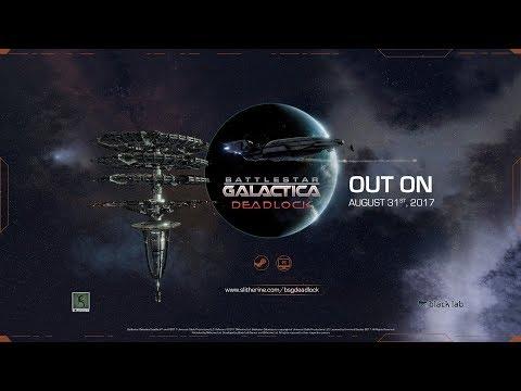 Battlestar Galactica Deadlock - Out on August 31! - Battle Trailer
