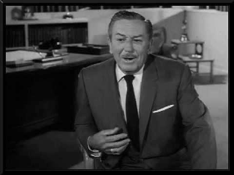 Walt Disney tells how he got his idea for a theme park