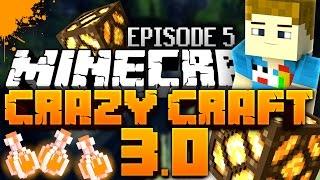 "Minecraft: CRAZY CRAFT 3 MADNESS | Ep. 05 ""PORTAL GUNS"""