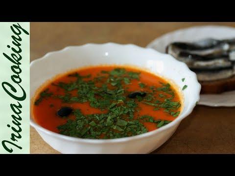Как приготовить красный суп - видео