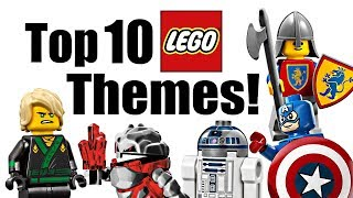 Top 10 LEGO Themes!