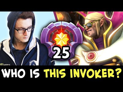 Who is THIS INVOKER? Miracle vs 25 level SPAMMER