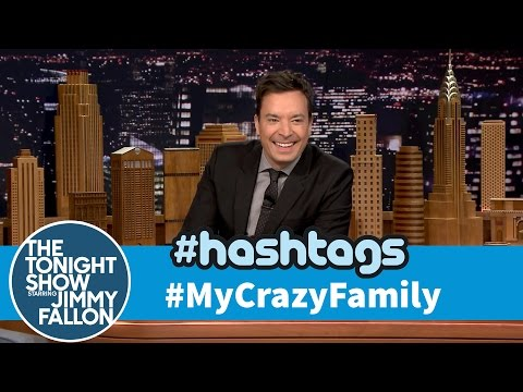Hashtags: #MyCrazyFamily