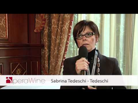 OperaWine - Press Conference - Sabrina Tedeschi - Tedeschi