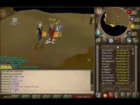 runescape - faking visage drops at kbd (kng black dragon)