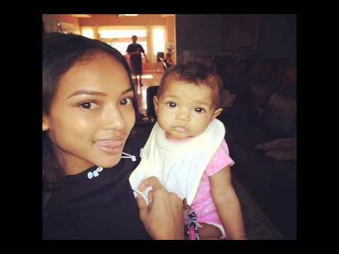 Karrueche Tran breaks up with Chris Brown over baby girl with model Nia! No baby drama for Karate!