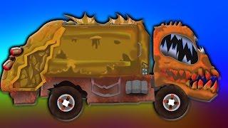 gom rác Xe tải - đáng sợ đồ chơi Nhà máy   Bọn trẻ Đồ Chơi xe tải   Đồ chơi video   Garbage Truck