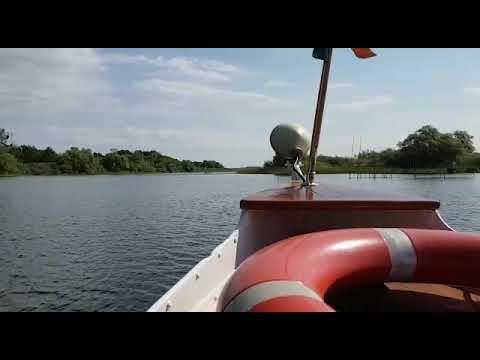 Barkasse Regulus auf dem Teterower See