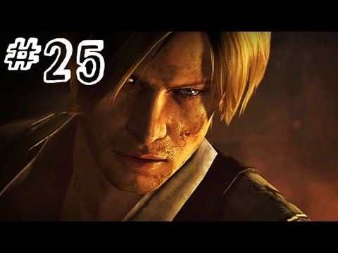Resident Evil 6 Gameplay Walkthrough Part 25 - SKYSCRAPER - Leon / Helena Campaign Chapter 5 (RE6)