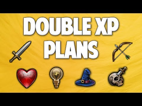 Runescape 2018 | Double XP Weekend Plans!