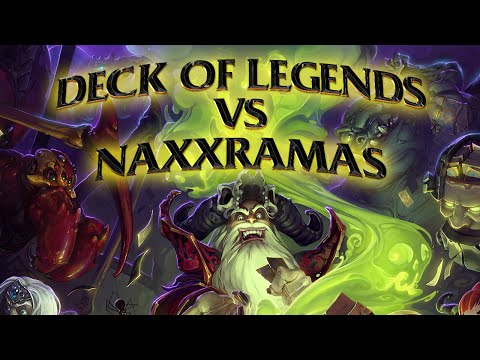 Hearthstone: Deck of Legends vs Naxxramas