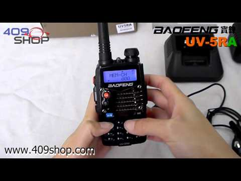 BAOFENG UV5RA New Version Dual Band U/V 136-174/400-480Mhz Radio