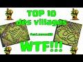 Clash of Clans-Top 10 Villages WTF ! Feat ZenorHd thumbnail