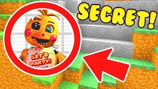 WE FOUND FNAF 2 SECRET BASE IN MINECRAFT PE! (Ps3/Xbox360/PS4/XboxOne/PE/MCPE)
