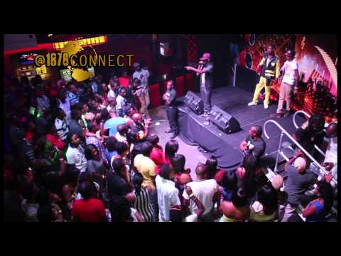 Popcaan Performs Live At His Birthday Party | July 2013 |  1876connect popcaanmusic video