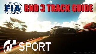 GT Sport FIA RND 3 Track Guide Manufacturer GR.4 Dragon Trail