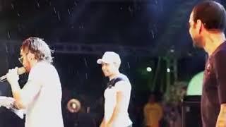 GABRIEL DINIZ E DANIEL ALVES DANÇANDO E FAZENDO SARRADA NO AR
