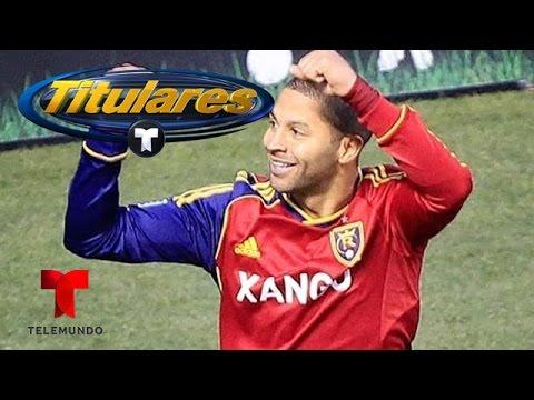 Álvaro Saborío: La MLS, Costa Rica y el Mundial | Titulares Telemundo | NBC Deportes