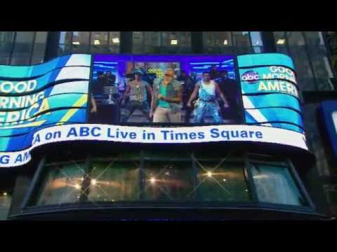 Chris Brown Performs yeah 3x Live On gma 3 22 2011 video